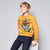 Next Crew Neck Raglan Sleeve Terry Fleece Sweatshirt For Kids-Yellow-NA6599