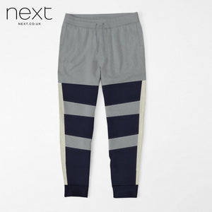 Next Fleece Jogger Trouser For Men Cut Label-Slate Grey & Navy Lining-BE4379