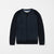 Next Fleece Sweatshirt For Kids-Dark Navy With Quilted Sleeves-NA6611
