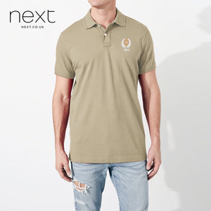 Next P.Q Polo Shirt For Men-Camel-NA5076