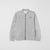 Next P.Q Terry Zipper Baseball Jacket For Kids-Light Grey-NA6628