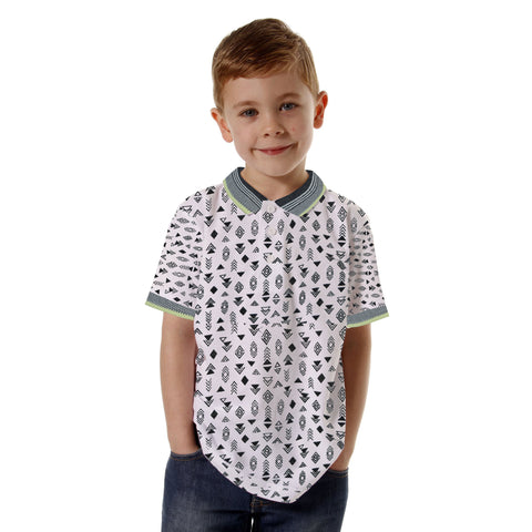 Next Single Jersey  Polo Shirt For Kids Printed-BA000148