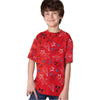 brandsego - Next Single Jersey T Shirt For Kids Dark Red-BA000147