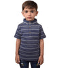 Next Single Jersey Polo Shirt For Kids-Dark Navy White Stripe -BA000153