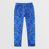 Next Straight Fit Single Jersey Trouser For Ladies-Allover Print Blue-NA8736