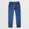 Next Straight Fit Single Jersey Trouser For Ladies-Allover Print Dark Blue-NA8735