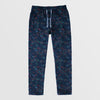 Next Straight Fit Single Jersey Trouser For Ladies-Allover Print Dark Navy-NA8738