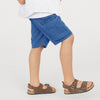 Okaidi Terry Summer Cargo Short For Boys-NA8633