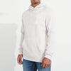 Next Terry Fleece Pull Over Hoodie For Men-White-BE3908