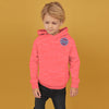 Next Terry Fleece Pullover Hoodie For Kids-Pink Melange-NA7751