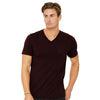 Next V Neck Tee Shirt-For-Men Dark Maroon-BA000177