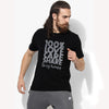 Boohoo Man Crew Neck T Shirt For Men-Black with Print-BE2097