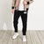 NK Fleece Slim Fit Jogging Trouser With out Pockets For Men-Black-NA10276