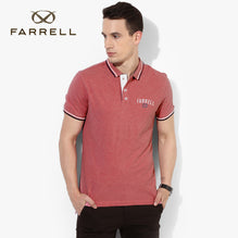 Farrell Polo Shirt For Men Cut Label-Coral Pink Melange-BE2490