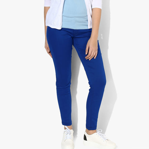 OLD NAVY Stretch Skinny Fit Denim For Ladies-Blue-BE4124