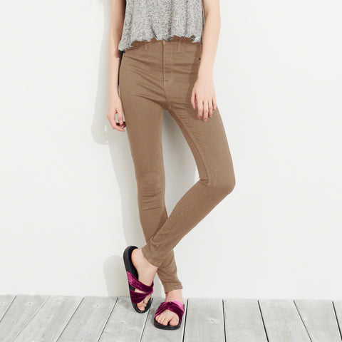 OLD NAVY Stretch Skinny Fit Denim For Ladies-Camel-BE4127