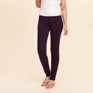 OLD NAVY Stretch Skinny Fit Denim For Ladies-Dark Scarlet-BE4126