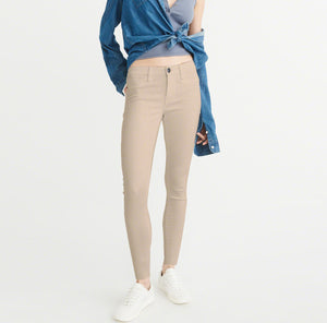 OLD NAVY Stretch Skinny Fit Denim For Ladies-Light Khaki-BE4133