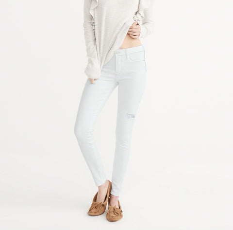 OLD NAVY Stretch Skinny Fit Denim For Ladies-Light Sky-BE4129