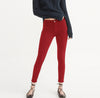OLD NAVY Stretch Skinny Fit Denim For Ladies-Red-BE6831