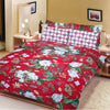 Oker's Island 100% Cotton Printed Double Bed Sheet & Pillow Set-NA6116