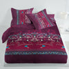 Oker's Island 100% Cotton Printed Double Bed Sheet & Pillow Set-NA6118