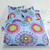 Oker's Island 100% Cotton Printed Double Bed Sheet & Pillow Set-NA6120