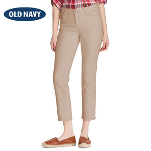 Old Navy Stylish Slim Fit Capri For Ladies-Beige-NA5953