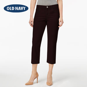 Old Navy Stylish Slim Fit Capri For Ladies-Dark Indigo-NA5891