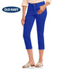 brandsego - Old Navy Stylish Slim Fit Capri For Ladies-Royal Blue-NA7681