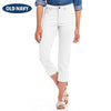 Old Navy Stylish Slim Fit Capri For Ladies-White-NA7657