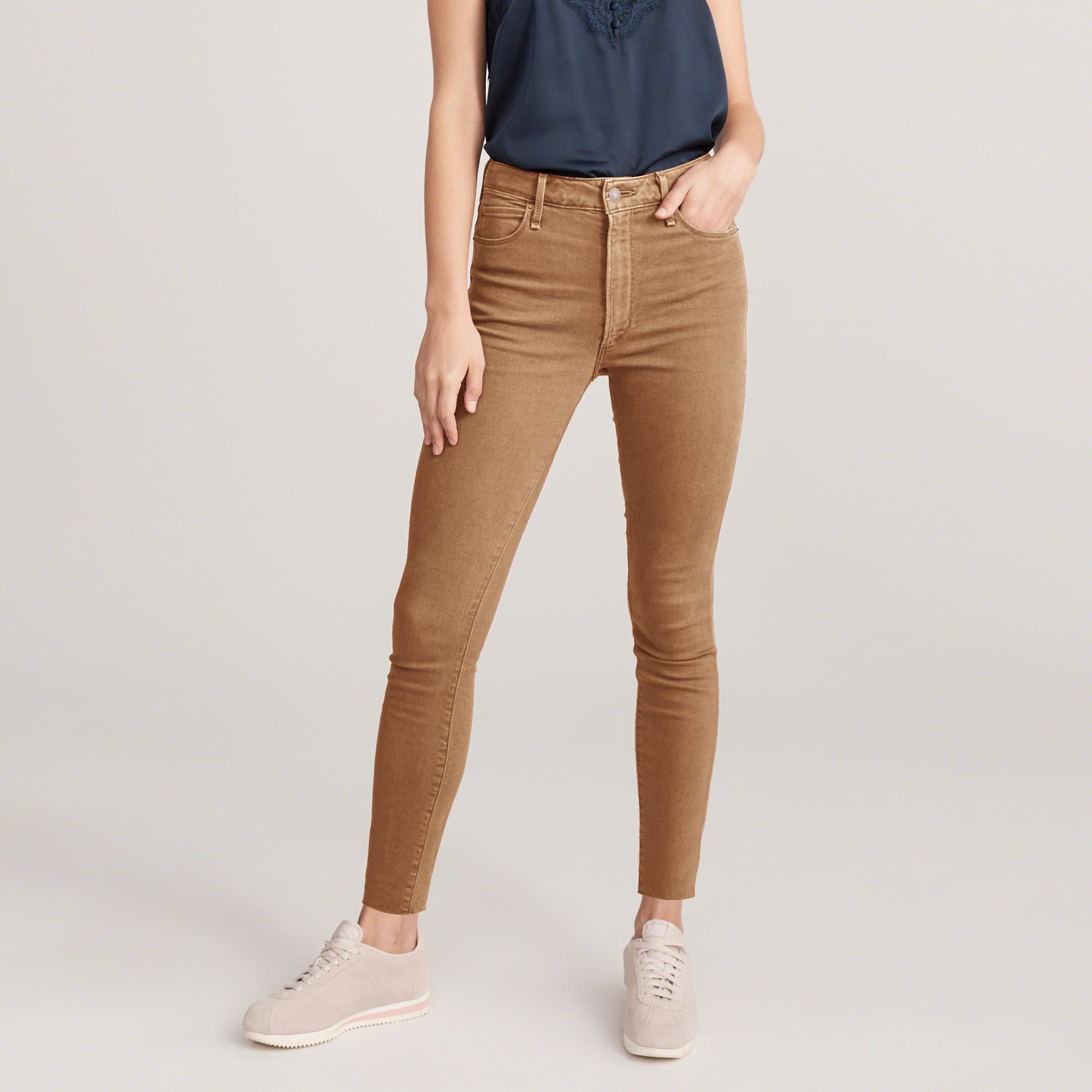 Old Navy Stylish Slim Fit Denim For Ladies-Brown-NA8781