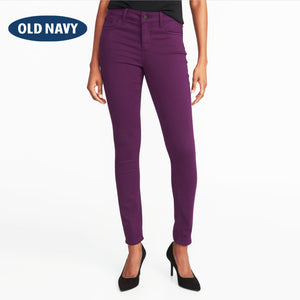 Old Navy Stylish Slim Fit Denim For Ladies-Dark Indigo-NA5566