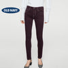 Old Navy Stylish Slim Fit Denim For Ladies-Dark Maroon-NA5544