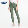 Old Navy Stylish Slim Fit Grinded Style Denim For Ladies-Green-NA5502