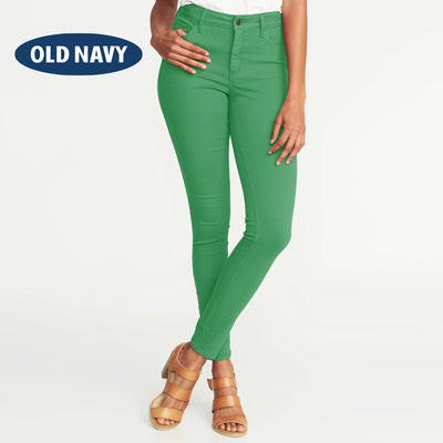brandsego - Old Navy Stylish Slim Fit Denim For Ladies-Green-NA5978