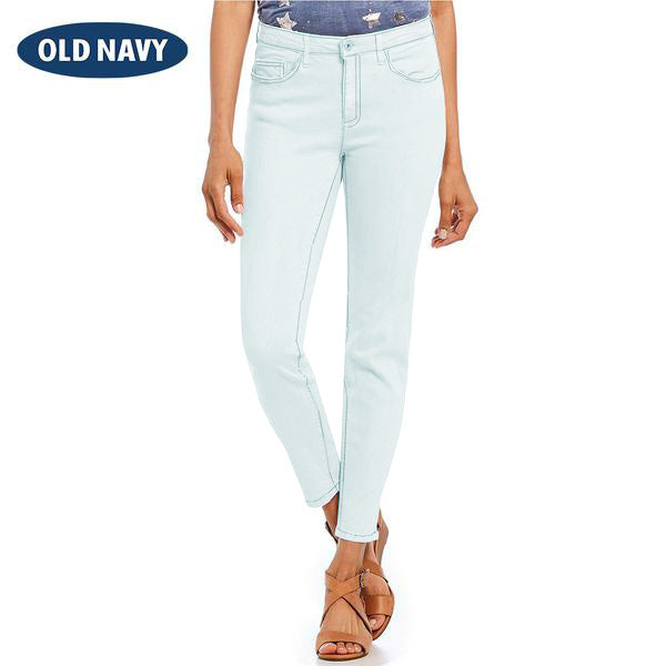 Old Navy Stylish Slim Fit Denim For Ladies-Light Sky-NA8003