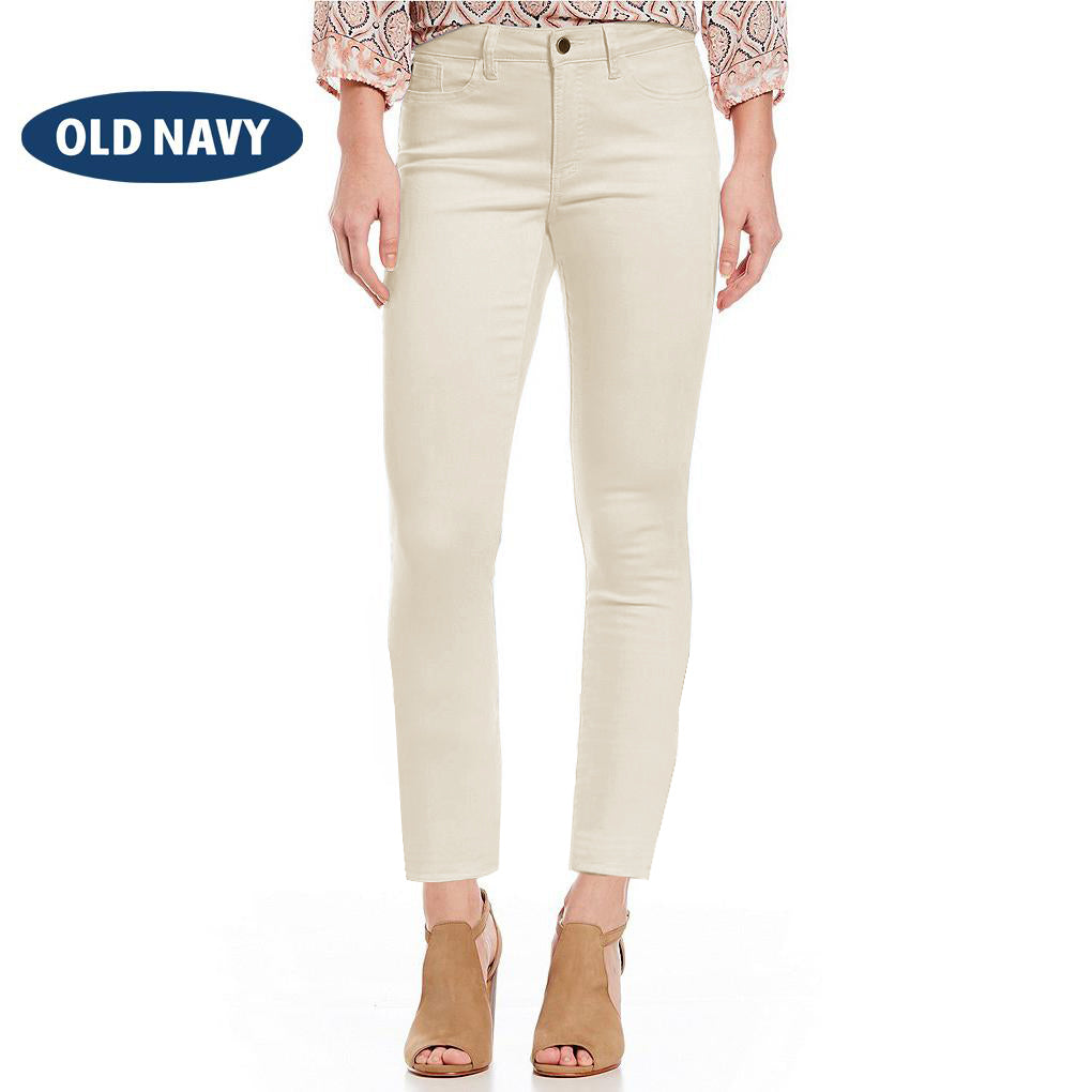 Old Navy Stylish Slim Fit Denim For Ladies-Light Wheat-NA7680
