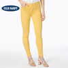 Old Navy Stylish Slim Fit Denim For Ladies-Yellow-NA5488