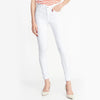 brandsego - Old Navy Stylish Slim Fit Grinded Style Denim For Ladies-White-NA7658