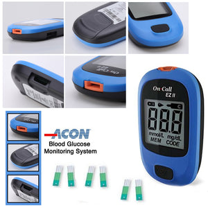 On Call Ez ii Blood Glucose Monitoring System-NA5049