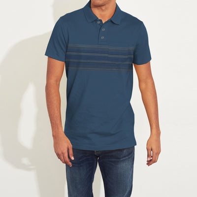 brandsego - Outdoor Life Short Sleeve Single Jersey Polo Shirt For Men-NA8124