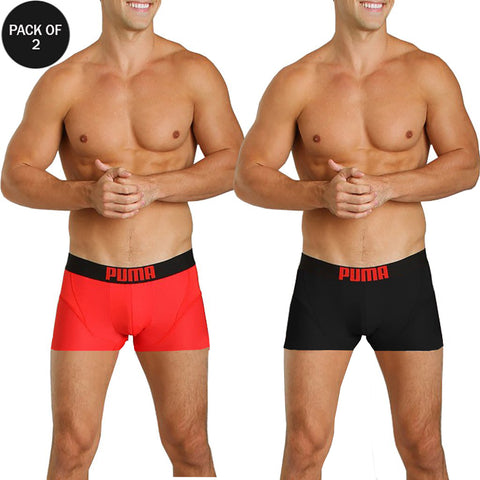 Pack Of 2 PUMA Assorted Boxer Short For Men-PBSFM01