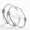 Pack Of 2 Fine Metal Silver Bangle-NA9209