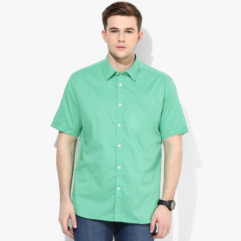 B Quality Tommy Hillfiger Lime Short Sleeve Casual Shirt