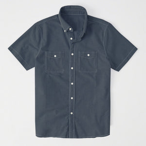 Payper Wear Button Down Casual Shirt For Men-Dark Slate Gray-NA1314