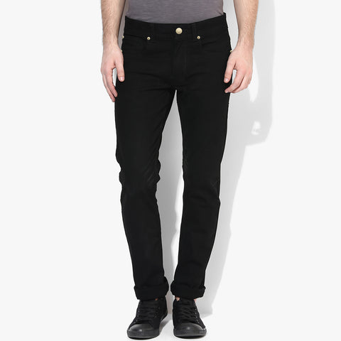 B Quality Men's Dressmann Slim Fit Cotton Denim Black - BMD04