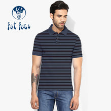 Fat Face Polo For Men Cut Label-Blue & Striped-BE2309