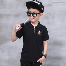 "Kid's ""B&G"" Stylish Polo Shirt-BE551"