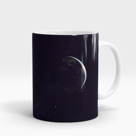 Planet Earth Printed Mug-NA5811